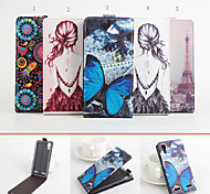 Protective PU Leather Magnetic Vertical Flip Case for Lenovo K3/K30-T(Assorted Colors)