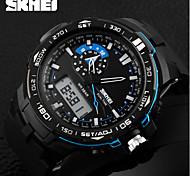 SKMEI® Men's Tough Design Sport Watch Analog-Digital Dual Time Zones/Calendar/Chronograph/Alarm