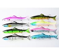 """Esche rigide / Esca Esche rigide 17.7g g Oncia mm / 5"""" pollice 1 pc Pesca con esca , Colori assortiti Plastica"""