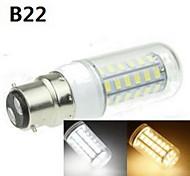 e14 / b22 / e2627 / G9 / gu10 9w 48x5630smd 1800lm bombillas cálidos / fríos blancos decorativos de maíz AC220-240V / ac110-240