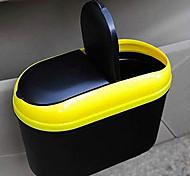caixote do lixo automotivo interior multi-funcional portátil dobrável rack de lixo pendurado receber veículo de lixo