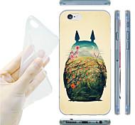 totoro Muster TPU weiche Tasche für iPhone 6