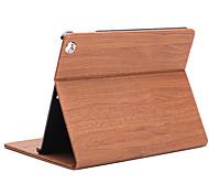Klapp Rhombus PU Ledertasche mit Ständer für iPad 1/2/3/4 (verschiedene Farben)