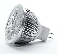 morsen® 10pcs MR16 5w luz fría / caliente / naturales white350-400lm llevó bulbo del punto (CC 12V)