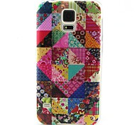 Floral Pattern TPU Material Phone Case for Samsung GALAXY S3 S4 S5 S6 S6edge S3Mini S4Mini S5Mini