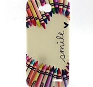 Pencil Heart Pattern TPU Material Soft Phone Case for LG L90 D405