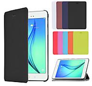 affaires intelligent pu livre en cuir cas de couverture pour Samsung Galaxy Tab a / onglet 8,0 t350 un T550 9.7 (couleurs assorties)