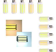 2 pcs Ding Yao E27 15W 6LED COB 300-400LM Warm White/Cool White Corn Bulbs AC 220-240V