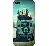 The Car Pattern Phone Back Case Cover for iPhone5C