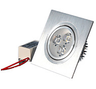 6W Luces de Panel Luces Empotradas LED de Alta Potencia 500-550 lm Blanco Cálido / Blanco Fresco Regulable AC 100-240 / AC 110-130 V1