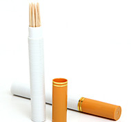 Cigarette Shaped Toothpick Holder Portable Fashion Travel Accessory (2 Packed)