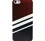 Black And White Pattern TPU Painted Soft Back Cover for iPhone 5/5S