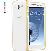 Pajiatu Metal Ultra-thin Mobile Phone Bumper Frame for Samsung GALAXY S3 I9300 (Assorted Colors)