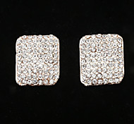 Fashion  New Style Diamond Series 13 Stud Earrings Wedding/Party/Daily/Casual 2pcs