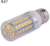 1 pcs E14/G9/E26/E27 15 W 60 SMD 5730 1500 LM Warm White/Cool White Corn Bulbs AC 85-265 V