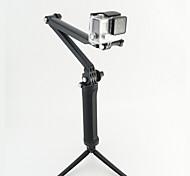 GoPro-Zubehör Selfie-Stick / 3-fach verstellbare Schwenkarm / Einbeinstativ / Stativ / Handgriffe / Halterung 3-Wege, Für-Action Kamera,