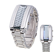Unisex Guarda Digitale Orologio alla moda LED / Resistente all'acqua Lega Banda Ciondolo