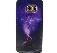 Для Кейс для  Samsung Galaxy С узором Кейс для Задняя крышка Кейс для Животный принт TPU SamsungS6 edge / S6 / S5 Mini / S5 / S4 Mini /