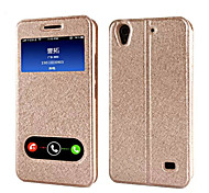 Hot style huawei honor chang play 4x silk grain protection shell case