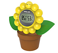 Decorative Baldr Digital thermometer hygrometer, indoor Flower Shape Temperature Humidity
