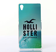 Surfing Pattern TPU Soft Case for Multiple Sony Xperia M2/Z2A
