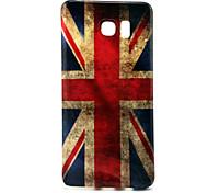 Retro UK Pattern TPU Soft Case for Galaxy Note 5