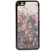 sourire design en aluminium cas de haute qualité pour iPhone 5c