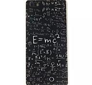 fórmula patrón TPU y caja del teléfono IMD para Huawei p8 Lite