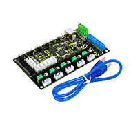 Conseil mks 3d de commande de l'imprimante keyes gen v1.2, envoyez ligne USB, noir