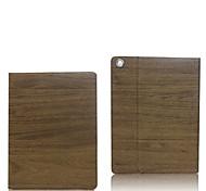modèle en bois de protection de couverture de cas avec le stand pour iPad 2 (couleurs assorties)
