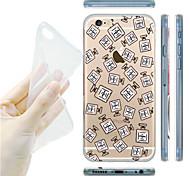 maycari® Welt des Parfums transparente weiche TPU zurück Fall für iPhone 6 Plus