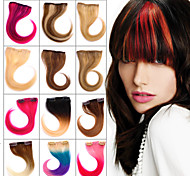 Clip in 100% human Hair Bang 12 Colors Available