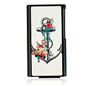 Anchor Leather Vein Pattern Hard Case for iPod Nano 7
