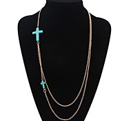 HUALUO®Europe and America Personality Cross Necklace