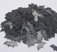 Confetti Bat For Halloween Table Decoration