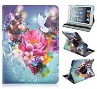 caso pintado tablet pc soporte giratorio para ipadmini1 / 2/3