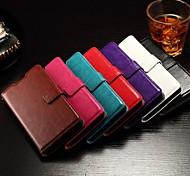 флип поддержка крышка гнезда карты фоторамка жирной кожи просто пу Mobile Shell телефон хуа Вэй чести 7 различных цветов