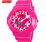 SKMEI Children's Fashion Sports Electronics Multi-function Watch Candy ABS Case 3D Stereo Dial (more colors)