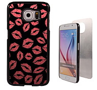 Lips Design Aluminum High Quality Case for Samsung Galaxy S6