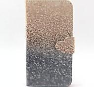 Sand-Muster PU-Material-Etui für Sony z3 mini / m2