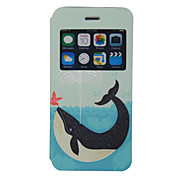 Scented Whale Pattern Windows Phone Holster for iPhone 6