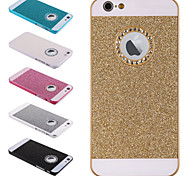 Window Hole Bling Glitter Hard Back Case Cover for iPhone 5/5S+Phone Holder Gift