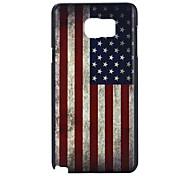 Para Samsung Galaxy Note Diseños Funda Cubierta Trasera Funda Bandera Policarbonato Samsung Note 5