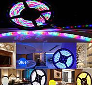 wasserdichte 5m 5050 SMD RGB LED-Streifen ws2811 flexible light + rgb 24key Fernbedienung + Netzteil (AC100-240V)