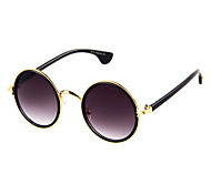Sunglasses Men / Women / Unisex's Classic / Fashion Round Gold Sunglasses Full-Rim