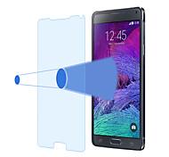 angibabe ultra delgado 2.5d 0,3 mm anti-blue ray templado protector de la pantalla de cristal para samsung galaxy Nota4 N910