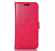 PU Leather Surface+PC Inner Shell With Stents Card Bad HTC M9 Mobile Phone Shell
