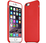 Original Genuine Leather Back Cover Case for iPhone 6