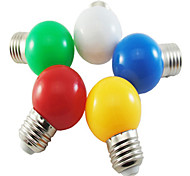 1w e27 5xsmd2835 350lm Farbe Ball Blase Lampe LED-Lampen (220 V)