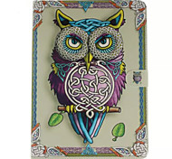Owl Pattern PU Leather Protective Sleeve For Samsung Galaxy T800/ T700 /T550 /T530/T350/T330/T310/T230/T110